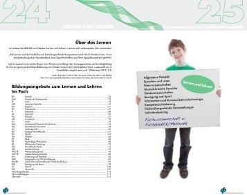 Lernen und Lehren - Pädagogische Hochschule Oberösterreich