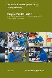 Publikation: Kompetent in den Beruf?!: Ergebnisse im Überblick