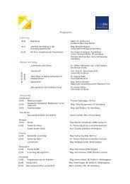 Programm - Pädagogische Hochschule Vorarlberg