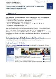 Anleitung - Pädagogische Hochschule Vorarlberg