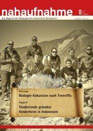 Ausgabe 6, Mai 2013 - Pädagogische Hochschule Weingarten