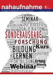 Sonderausgabe Forschung, Februar 2013 - Pädagogische ...