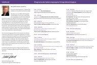 Grußwort Programm der Jahrestagung der Drogenbeauftragten