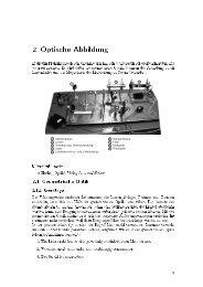 Optische Abbildung (ABB)