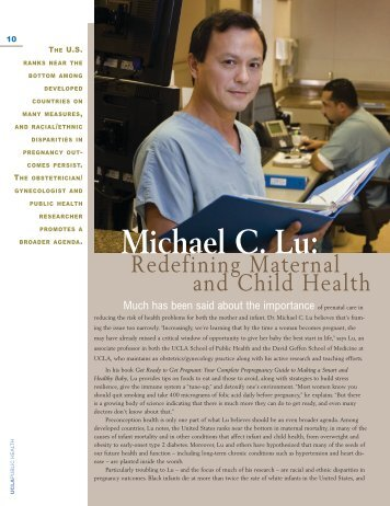 Michael C. Lu: - UCLA School of Public Health