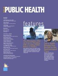 features - UCLA School of Public Health