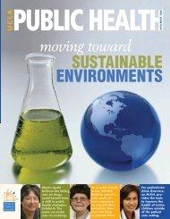 SUSTAINABLE ENVIRONMENTS - UCLA School of Public Health