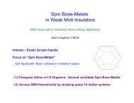 Spin Bose-Metals in Weak Mott Insulators