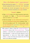 QED3 Theory of High Temperature Superconductors • What is the ... - Page 3