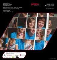 Angebote für Schulen - Phaeno