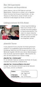 Angebote für KiTas - Phaeno - Page 2