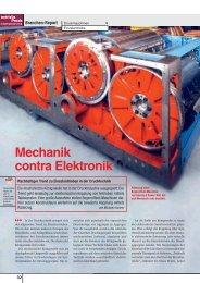 Mechanik contra Elektronik - Neue Verpackung
