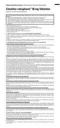 Clomifen-ratiopharm® 50 mg Tabletten - pharma-fuchs.de