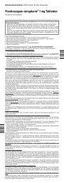 Flunitrazepam-ratiopharm® 1 mg Tabletten - pharma-fuchs.de