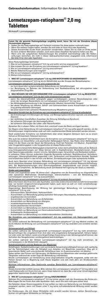 Beipackzettel - medikamente-per-klick.de