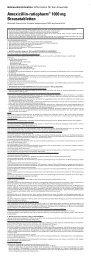 Amoxicillin-ratiopharm® 1000 mg Brausetabletten - pharma-fuchs.de