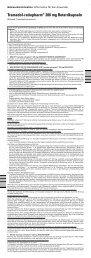 Tramadol-ratiopharm® 200 mg Retardkapseln - pharma-fuchs.de