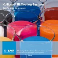 Kollicoat® IR Coating Systems - Pharma Ingredients & Services BASF