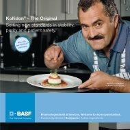 Kollidon - Pharma Ingredients & Services BASF