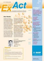 ExAct No. 17 - Pharma Ingredients & Services BASF