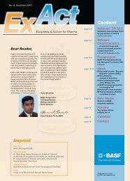 ExAct No. 13 - Pharma Ingredients & Services BASF