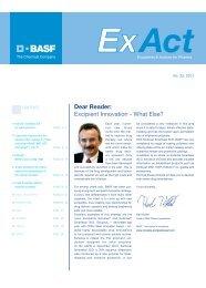 Kollicoat - Pharma Ingredients & Services BASF