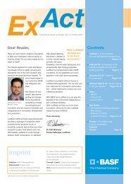 Imprint - Pharma Ingredients & Services BASF