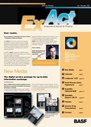 New Media - Pharma Ingredients & Services BASF