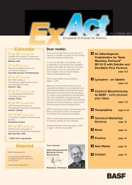 ExAct No. 7 - Pharma Ingredients & Services BASF