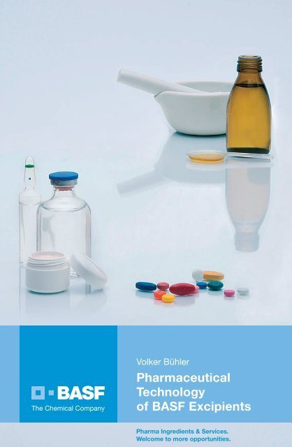 Pharmaceutical Technology of BASF Excipients