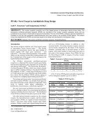 PPARγ- Novel Target in Antidiabetic Drug Design