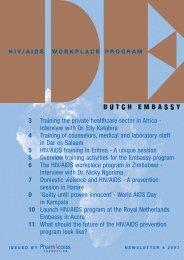 Newsletter 4 November 2007 (807 kB) - PharmAccess Foundation