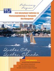 23rd International Conference on Pharmacoepidemiology ...