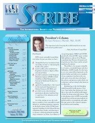 Scribe - International Society for Pharmacoepidemiology