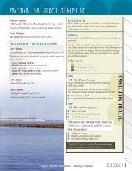 Final Program (As of August 4) - International Society for ...
