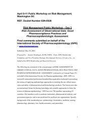 Day 3 - International Society for Pharmacoepidemiology