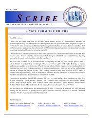 S CRIBE S CRIBE - International Society for Pharmacoepidemiology