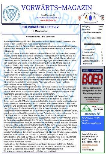 Ausgabe 100 - DJK Vorwärts Lette eV