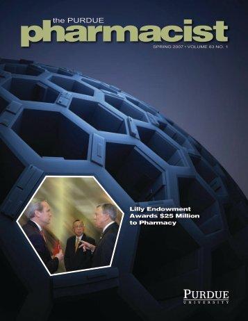 Spring 2007 - Purdue College of Pharmacy - Purdue University