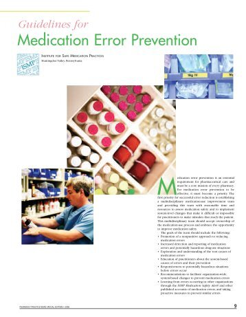preventing medical errors Medical errors are a rising concern to all healthcare providers, including audiologists this presentation will identify common clinical errors in audiology practice and review steps to minimize adverse outcomes.