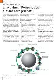 Erfolg durch Konzentration auf das Kerngeschäft - Pharmaserv