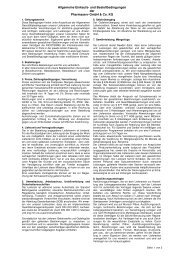 Einkaufs- und Bestellbedingungen Pharmaserv GmbH & Co. KG -205