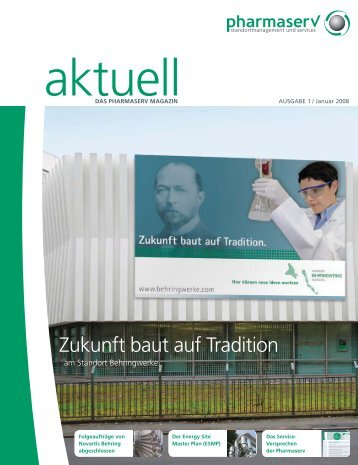Zukunft baut auf Tradition - Pharmaserv