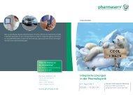 Integrierte Lösungen in der Pharmalogistik - Pharmaserv