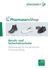 Berufs- und Sicherheitsschuhe - Pharmaserv
