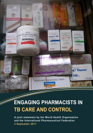 ENGAGING PHARMACISTS IN TB CARE AND CONTROL - FIP