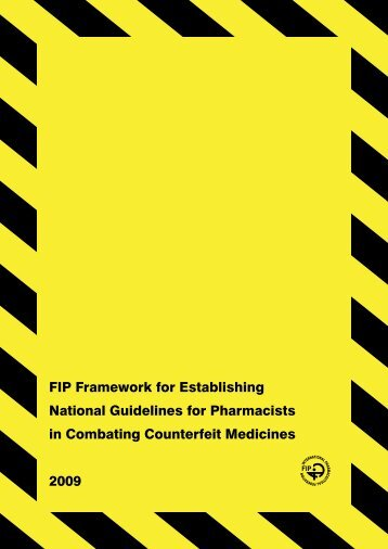 FIP Framework for Establishing National Guidelines ... - pharmaSuisse