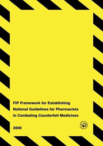 FIP Framework for Establishing National Guidelines ... - pharmaSuisse