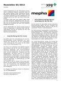 Newsletter 03/2013 - pharmaSuisse - Page 2