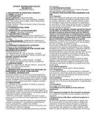 PATIENT INFORMATION LEAFLET NELABOCIN ... - Pharmathen